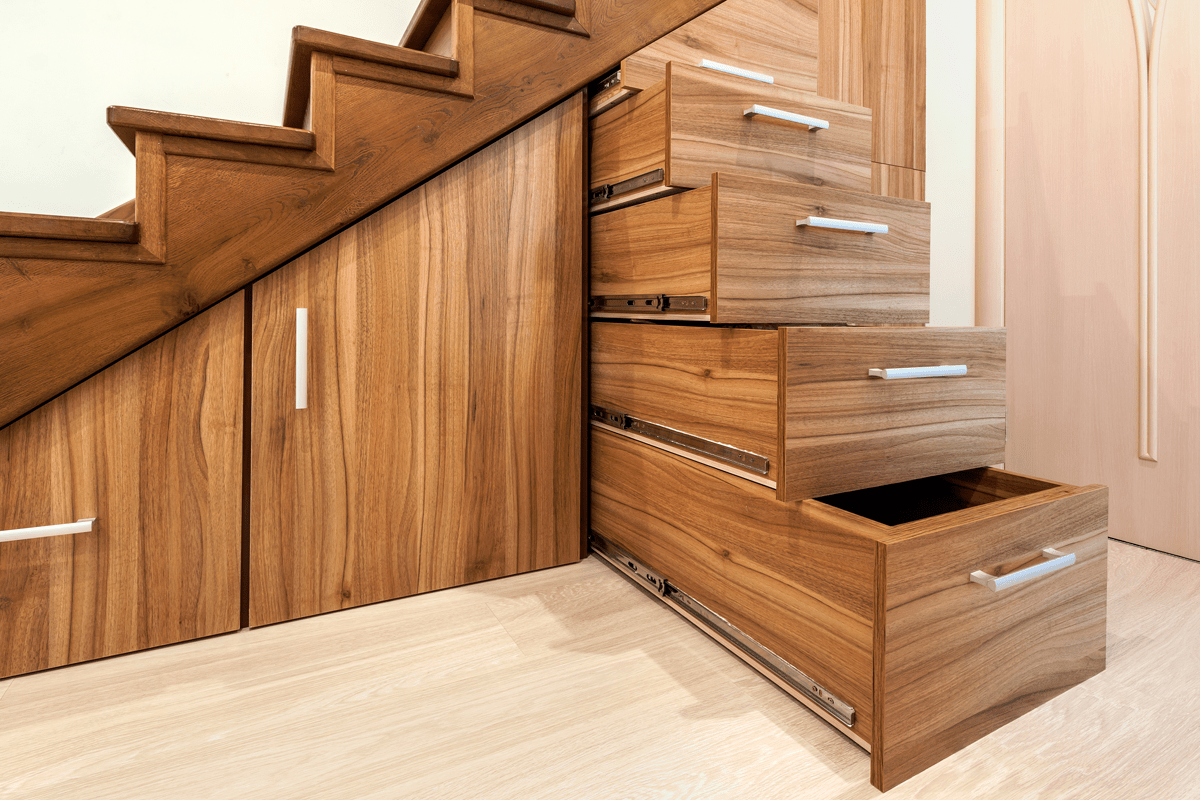 Creer Un Meuble Sous Escalier comment optimiser l'espace sous l'escalier ? - la clinique